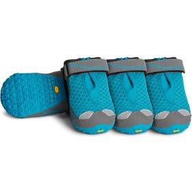 Ruffwear Grip Trex Hundestøvler boks med 4, blue spring